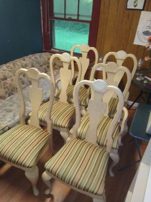 Imagen producto Dining room chairs/juego de sillas para comedor 1