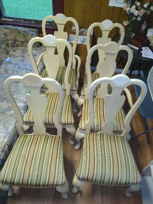 Imagen producto Dining room chairs/juego de sillas para comedor 2
