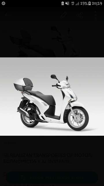 Imagen Transportista de Motos