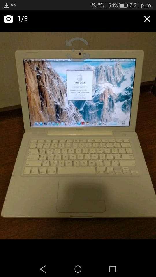 Imagen MacBook Blanca