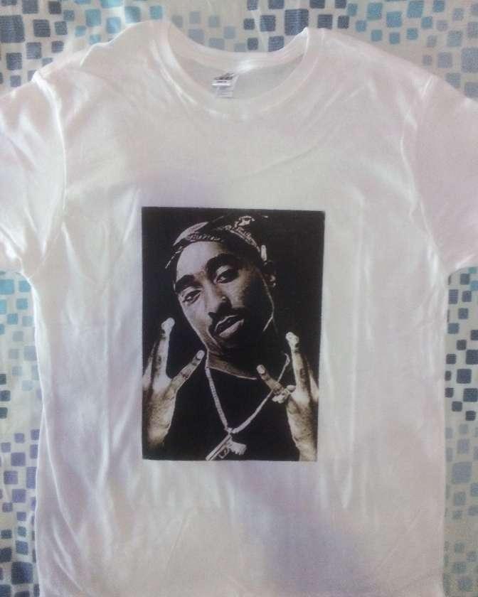 Imagen Camisetas 2pac snoop dree Eze-y old school