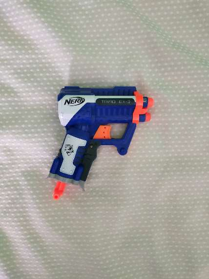 Imagen pistola Nerf azul