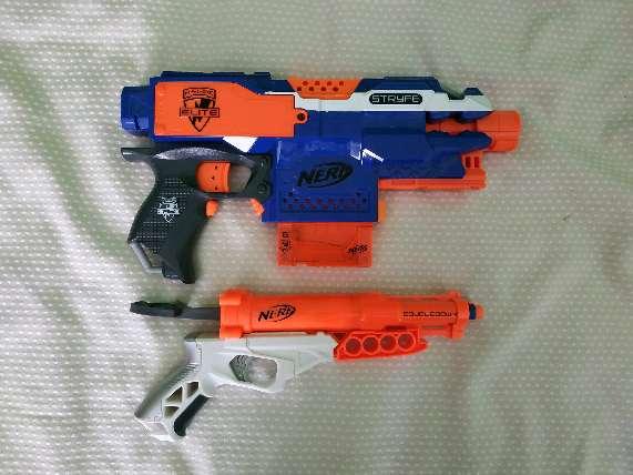 Imagen pack pistolas Nerf