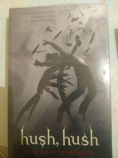 Imagen libros 1y 2 hush hush