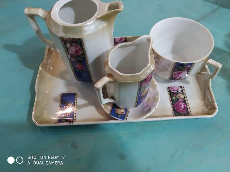 Imagen Set de ceramica pintada a mano