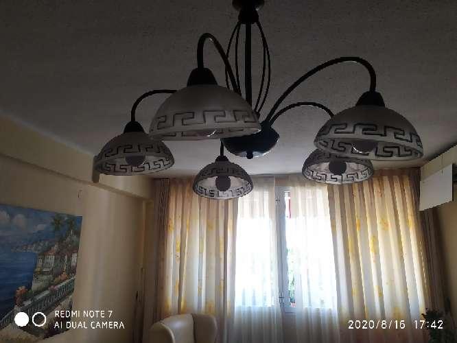 Imagen lampara de hierro forjado