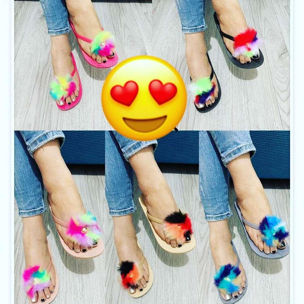 Imagen sandalias de colores