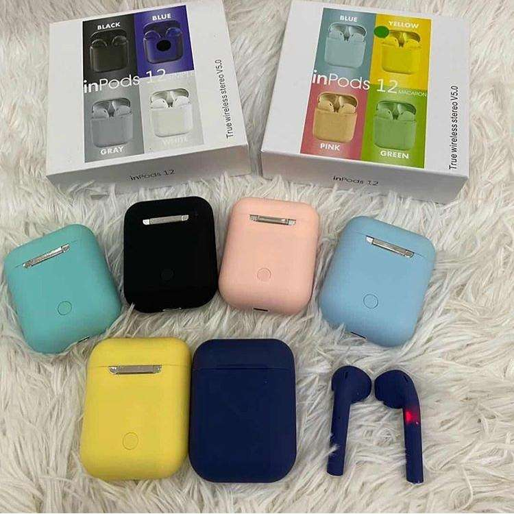 Imagen audífonos de colores