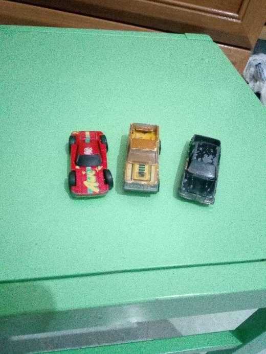 Imagen lote juguete coches antiguos