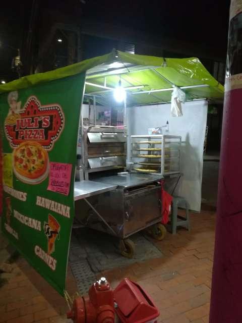 Imagen Carro para venta de pizza