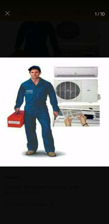 Imagen Aire Acondisionado Instalacion y Reparasion
