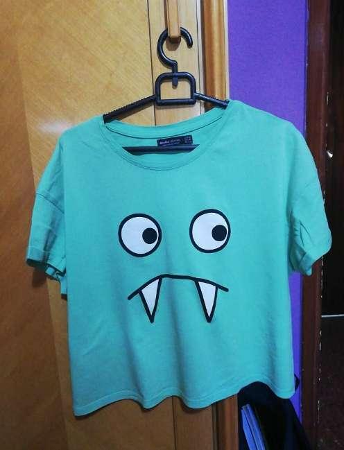 Imagen Camiseta Bershka