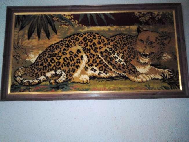 Imagen cuadro de leopardo