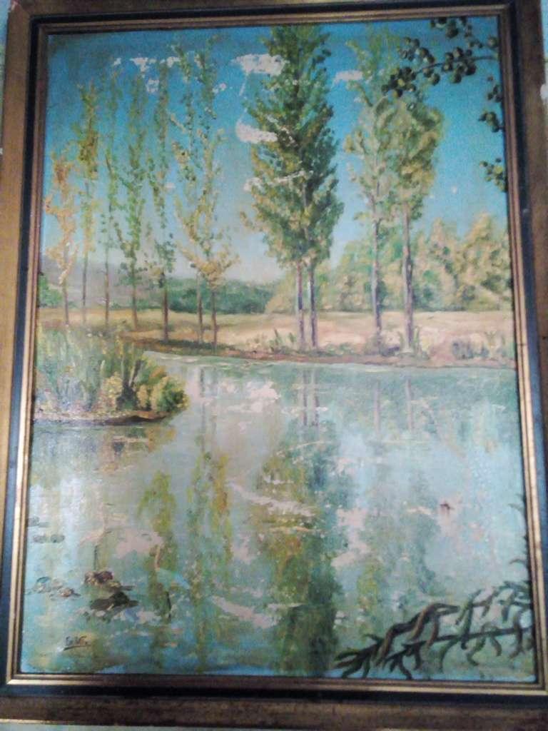 Imagen cuadro de paisaje