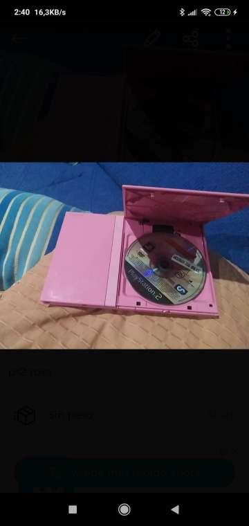 Imagen PlayStation 2 rosa