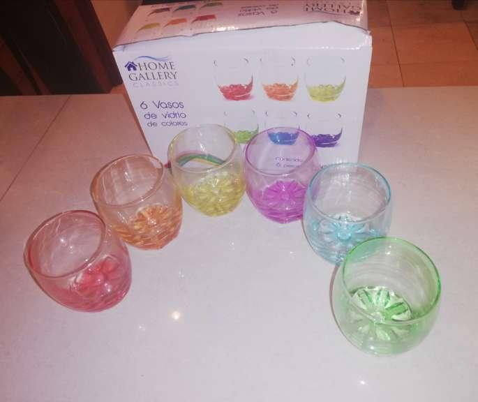 Imagen vasos de vidrio
