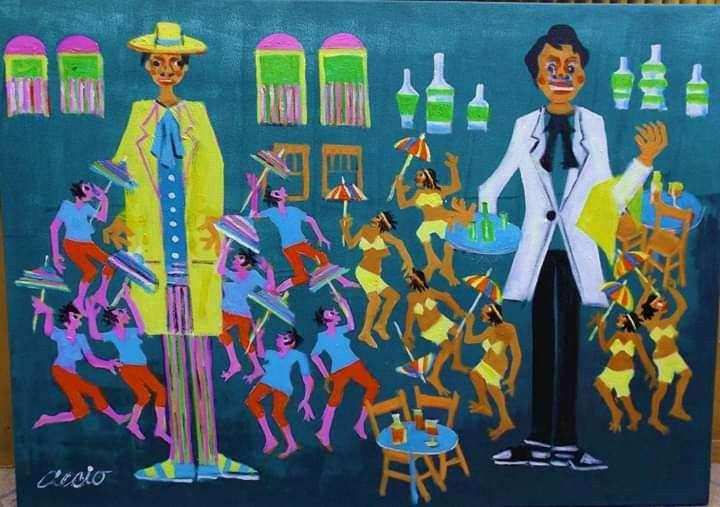 Imagen aecio tema carnaval medida 50x70