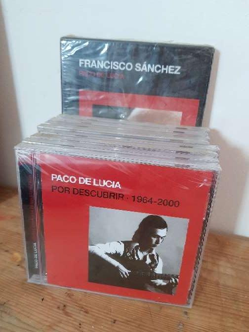 Imagen Colección discos Paco de Lucía