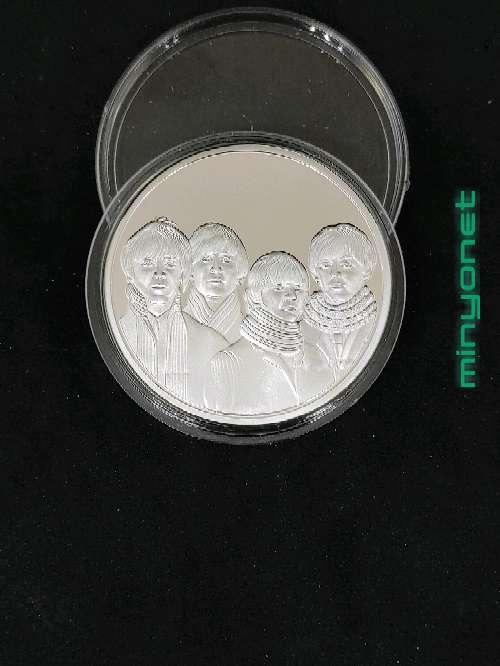 Imagen Moneda - medalla Beatles - Abbey Road