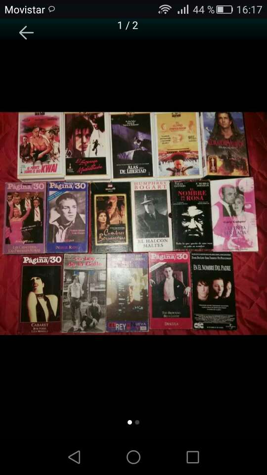 Imagen Peliculas VHS