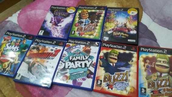 Imagen vendo juegos ps2