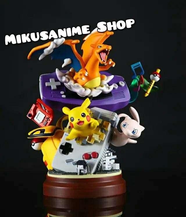 Imagen Figura Pokemon Game Boy Retro Pikachu