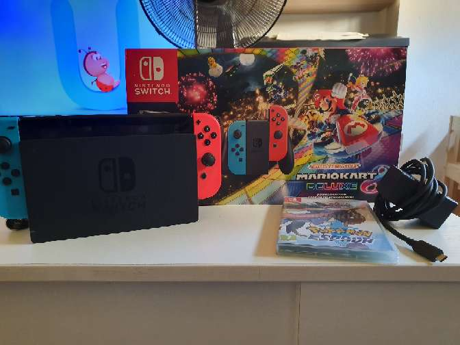 Imagen Nintendo Switch + 6 juegos