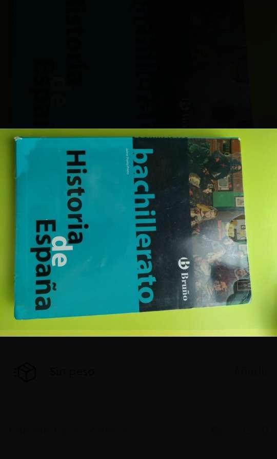 Imagen libro de matemáticas e Historia de España