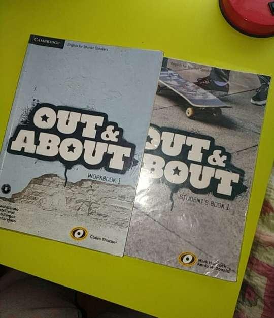 Imagen libros inglés, out about