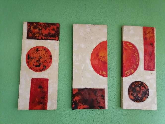 Imagen Cuadros de tres piezas