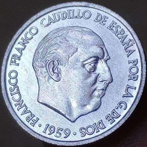 Imagen peseta original franco