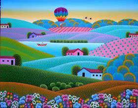 Imagen robson barros artista naif tema fazenda dos sonhos