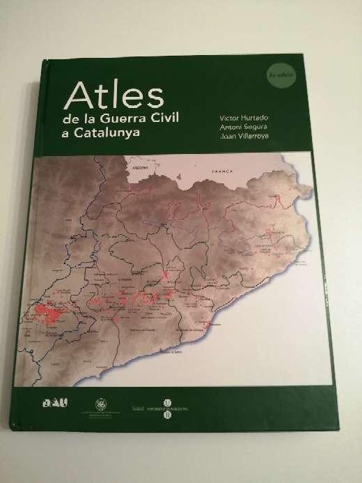 Imagen Atles de la guerra civil a Catalunya