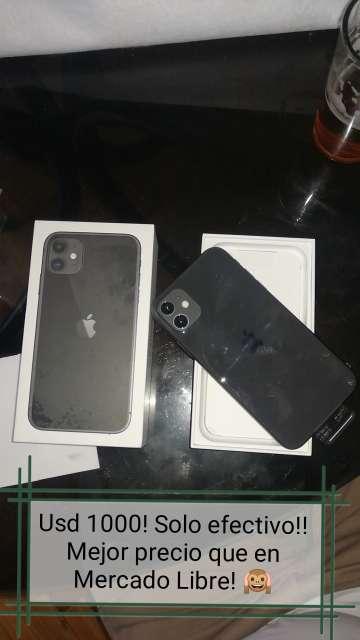Imagen producto Iphone 11 pro Silver y Iphone 11 Black de 64 gb ambos!  4