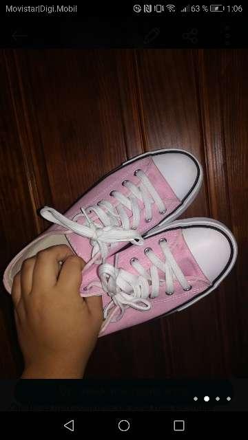 Imagen producto Zapatillas lona plataforma mujer  2
