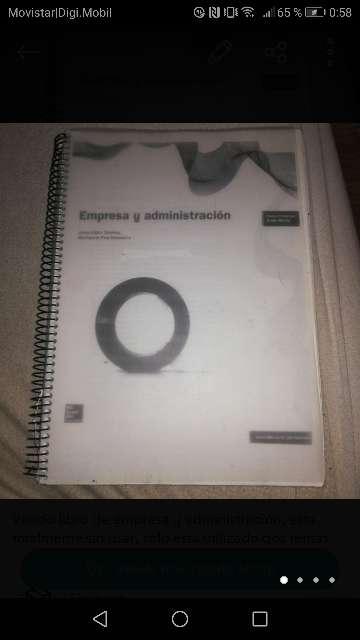 Imagen Libro empresa y administración
