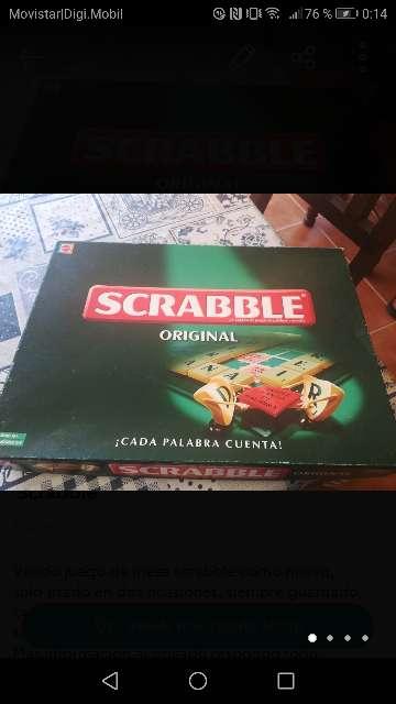 Imagen Juego de mesa Scrabble
