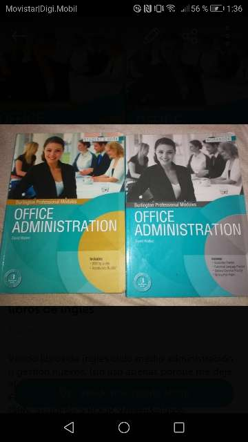 Imagen Libros texto inglés office administration