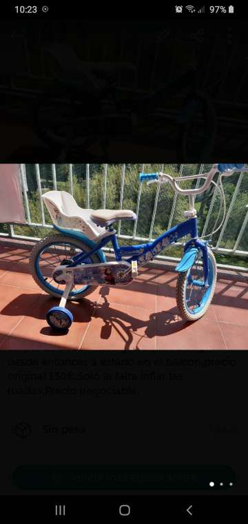 Imagen producto Bicicleta Frozen 3
