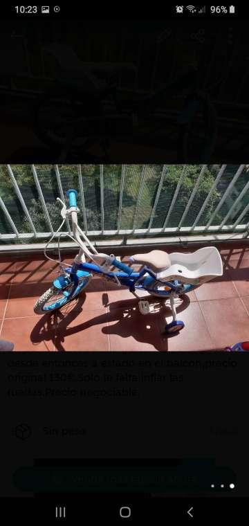 Imagen Bicicleta Frozen