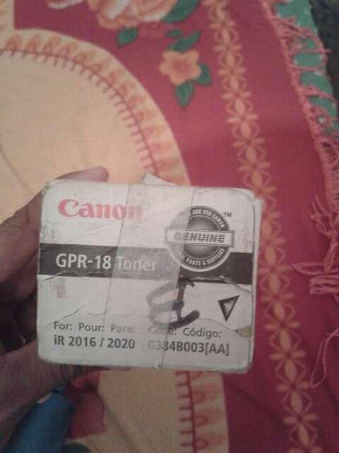 Imagen producto Toner canon GPR-18 2