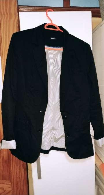 Imagen chaqueta de vestir negra
