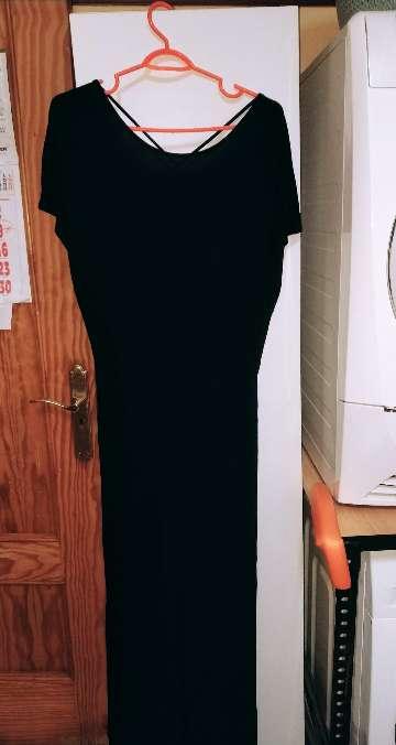 Imagen vestido largo negro