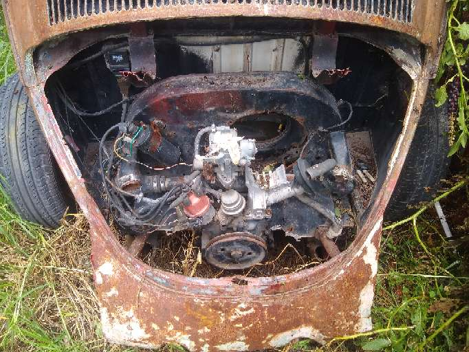 Imagen motor de vocho