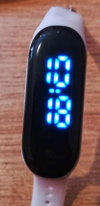 Imagen Reloj pulsera pantalla táctil digital