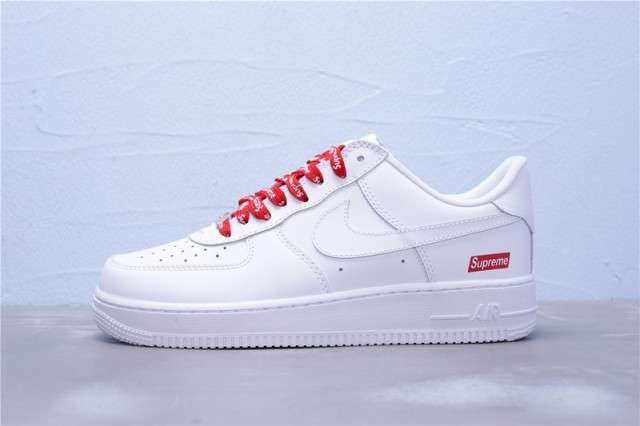 Imagen Nike Air Force 1 SUPREME Bianche