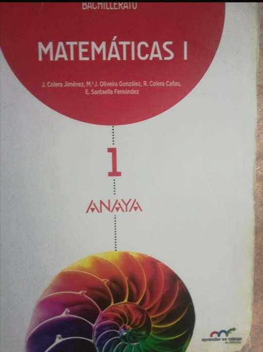 Imagen 1 bachillerato matemáticas