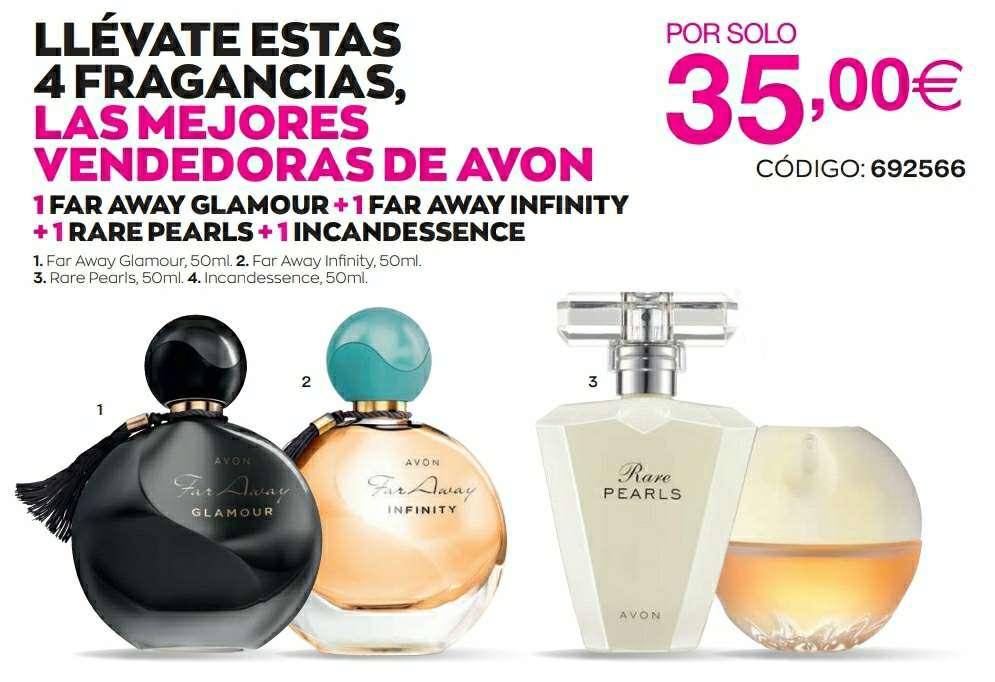 Imagen Pack de perfumes Avon