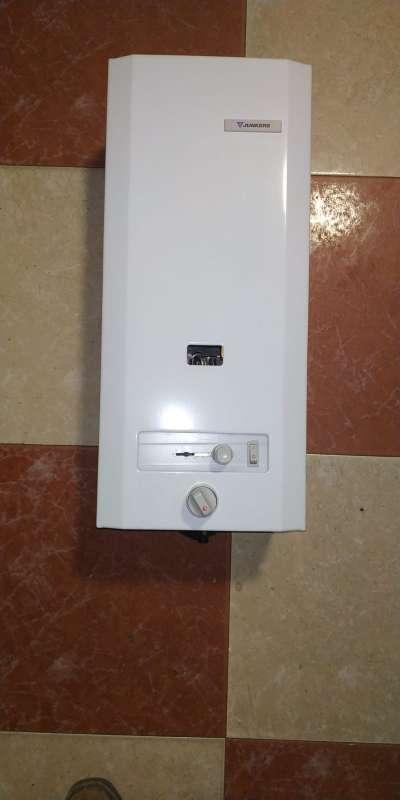 Imagen calentador junkers de gas natural automatico a pilas tal 625275339