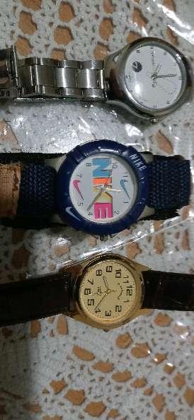 Imagen tres relojes juego completo
